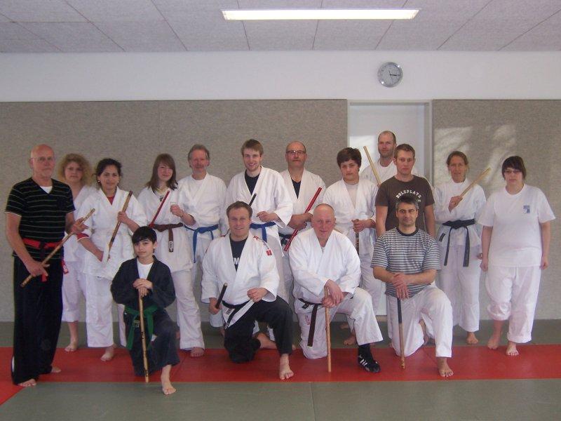 7. Ju-Jutsu-Traditionsvereinslehrgang beim SV Hemelingen