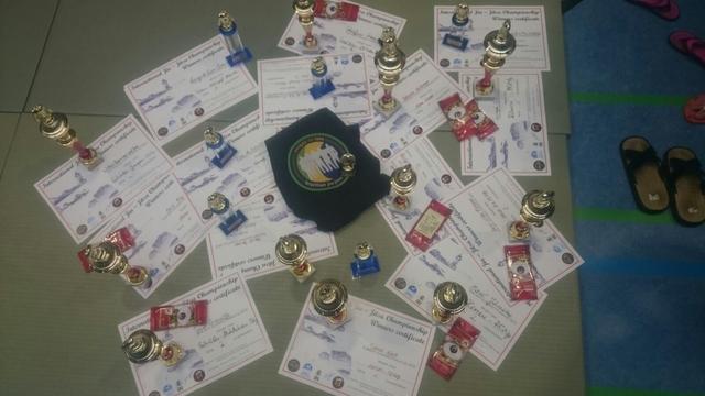 Die Ne-Waza Wettkämpfer vom ATSB haben auf dem Löwen-Cup und auf der Jiu Jitsu Meisterschaft mehrere Erfolge geholt