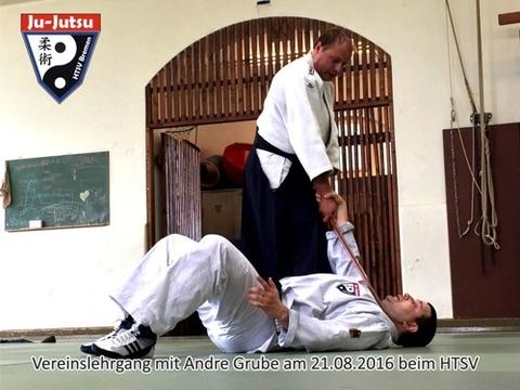 Vereinslehrgang: Ju-Jutsu meets Aikido