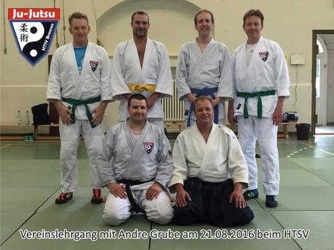 Vereinslehrgang beim HTSV: Ju-Jutsu meets Aikido