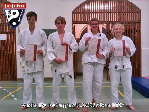 Vereins-Kyu-Prüfung beim HTSV