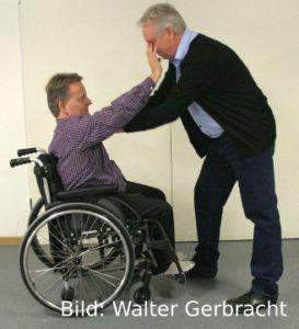 Handballenstoß , Bild: Walter Gerbracht