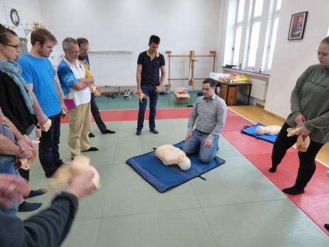 Erste-Hilfe-Lehrgang in Bremen