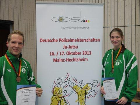 Ju-Jutsukas vom OT Bremen holen Medaillen bei den Deutschen Polizeimeisterschaften