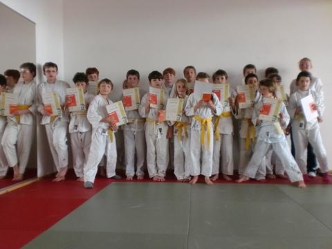 Erfolgreiche Ju-Jutsu-Kinderprüfung beim ATS Buntentor
