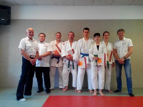 Landes-Kyu-Prüfung beim SV Hemelingen