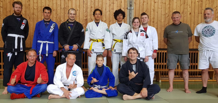 Landeslehrgang BJJ: Open Guard & Blue Belt Programm DJJV