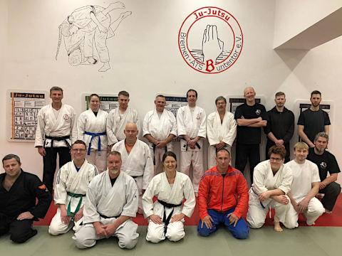Landeslehrgang  'Waffenlose Selbstverteidigung' mit Lars Müller beim ATSB